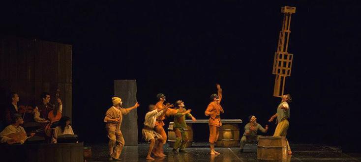 Le Carnaval baroque, spectacle du Poème Harmonique