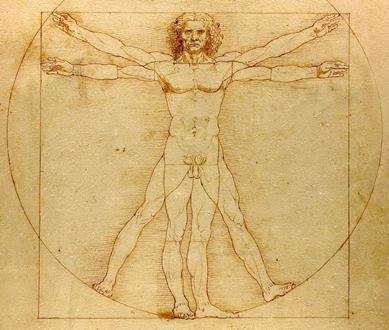 Leonardo da Vinci, Ecce Homo, l'homme de Vitruve, Accademia di Venezia