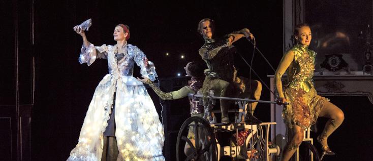 Cendrillon de Massenet présenté par l'Opéra-Théâtre de Saint-Étienne