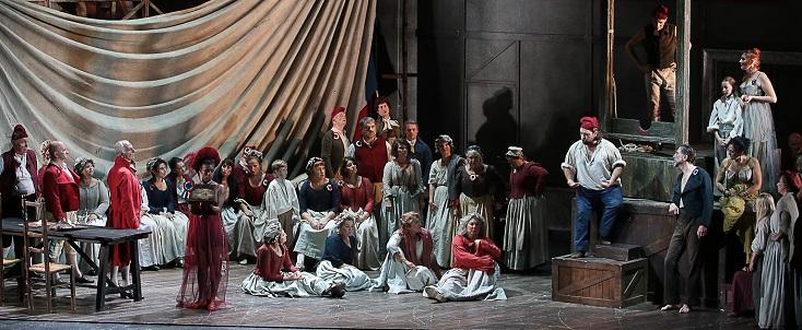 """""""Andrea Chénier"""" de Giordano à l'Opéra de Toulon : un vent de Terreur !"""