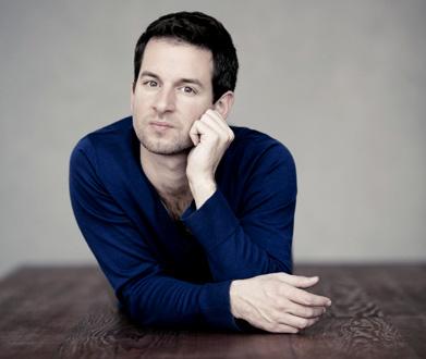 récital romantique du pianiste Bertrand Chamayou chez Jeanine Roze