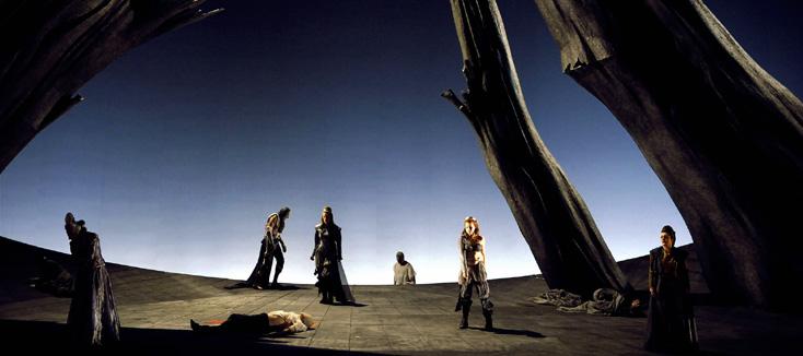 Scènes de chasse, création de rené Koering à l'Opéra national de Montpellier