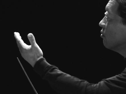 le chef Myung-Whun Chung, patron de l'Orchestre Philharmonique de Radio France