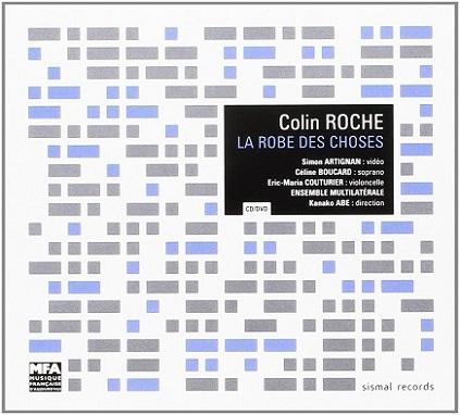 """pochette du CD """"La robe des choses"""" de Colin Roche"""