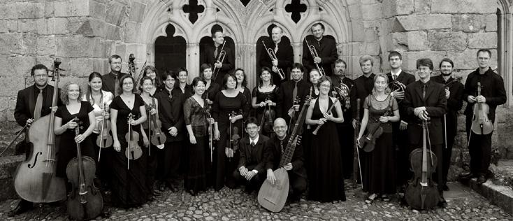 l'orchestre tchèque Collegium 1704 avec son chef Václav Luks