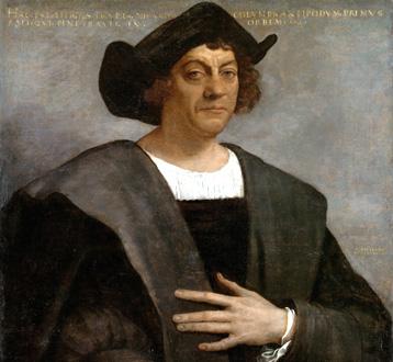 Sebastiano del Piombo : Ritratto di Cristoforo Colombo (1519)