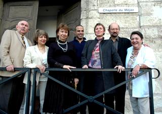 à Arles, le jury du Concours international de musique de chambre avec harpe