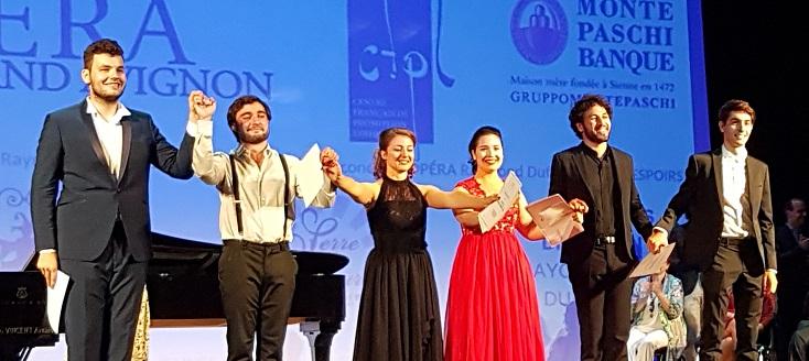 six candidats récompensés comme Jeunes Espoirs à Avignon