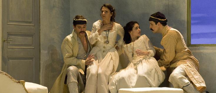 Così fan tutte version d'Éric Génovèse au Théâtre des Champs-Élysées (Paris)