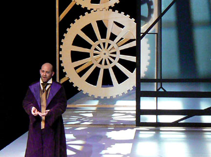 Maître Zacharius, un opéra de Jean-Marie Curti d'après Jules Verne