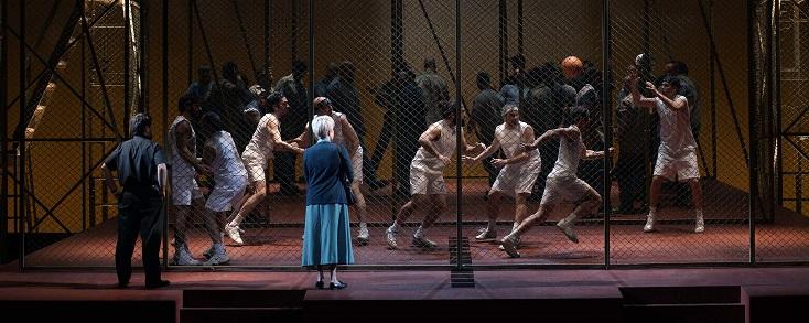 création espagnole de Dead man walking, l'opéra stupide de Jake Heggie