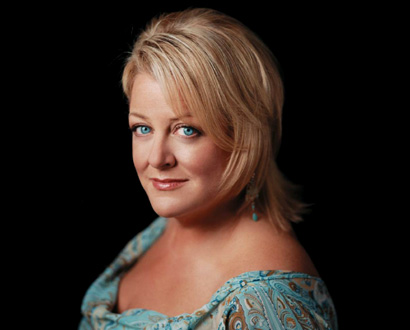 le soprano Deborah Voigt photographié par Joanne Savio