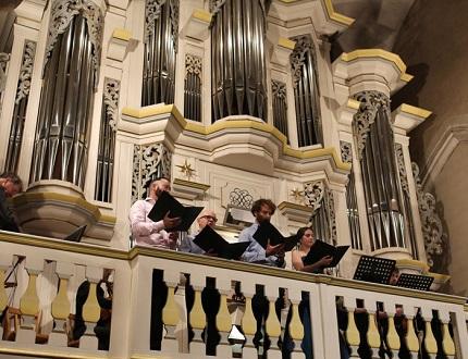 au festival Bach en Combrailles, Wouter Dekoninck et son Hildebrandt Consort