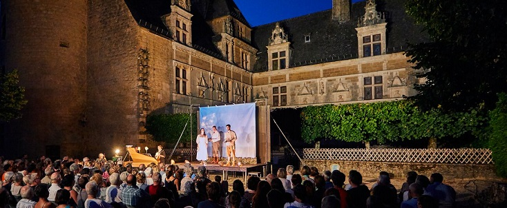 Au Festival de Saint-Céré 2018, le devin au village, de Jean-Jacques Rousseau