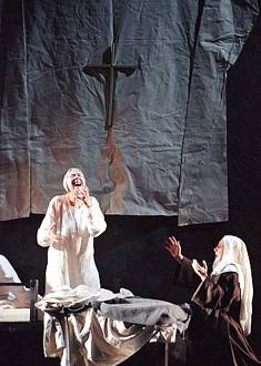 Dialogues des carmélites (Poulenc) à l'Opéra Bastille (photo Éric Mahoudeau)