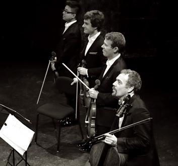 le Quatuor Diotima au Théâtre des Bouffes du nord (Paris), 2 décembre 2012