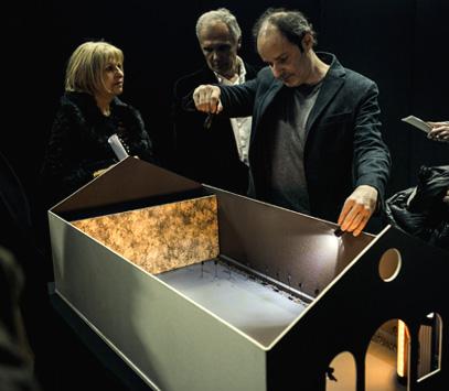 Zad Moultaka prépare ŠamaŠ pour le Pavillon du Liban à la Biennale de Venise