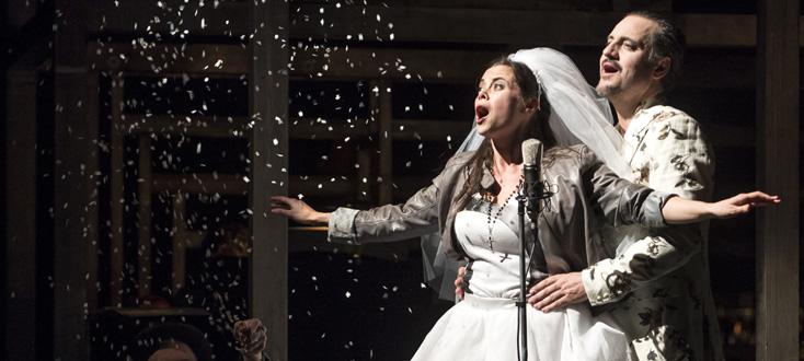 L'opéra de quat' sous de Weill, mis en scène par Joan Mompart