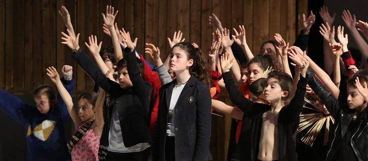 à La Criée (Marseille), Du chœur à l'ouvrage, un opéra pour voix d'enfants