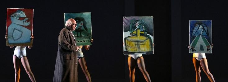 création mondiale d'un opéra de de Juan José Colomer dont Picasso est le héros