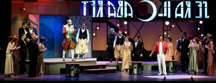 Emmanuelle Cordoliani met en scène Die Entführung aus dem Serail de Mozart