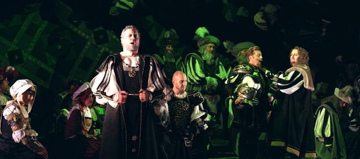 Orlin Anastassov est Silva dans Ernani (Verdi) à l'Opéra de Liège, 2015