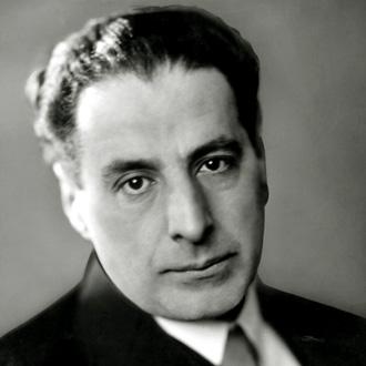 le compositeur Ernst Toch (1884-1964)