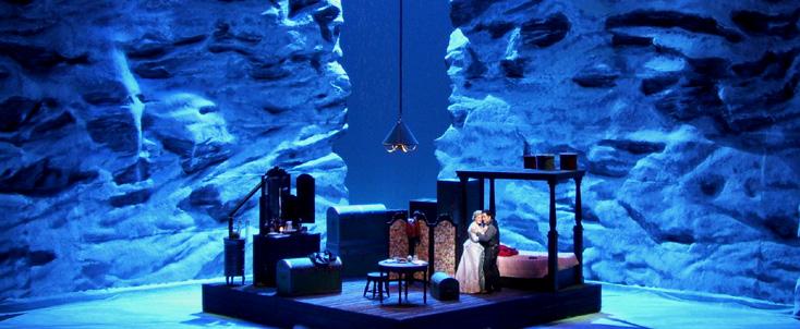La fanciulla del West de Puccini à l'Opéra Royal de Wallonie (Liège)