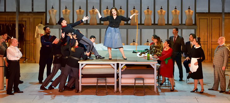 Résurrection de Madame Favart de Jacques Offenbach, à l'Opéra Comique