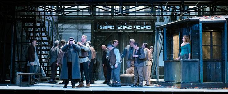 à Liège, Mario Martone met en scène Fidelio, en coproduciton avec Turin