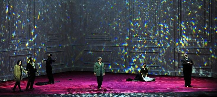"""Curieux """"Fidelio"""" (Beethoven) de Claus Guth filmé au Salzburger Osterfestspiele"""
