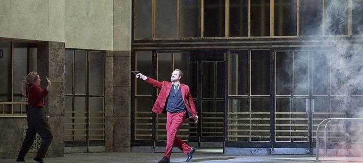 """Thomas Johannes Mayer chante Pizarro dans """"Fidelio"""" à la Wiener Staatsoper"""