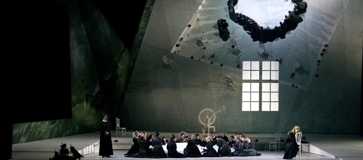 der fliegende Holländer (Wagner) à Bologne (photo de Rocco Casaluci)