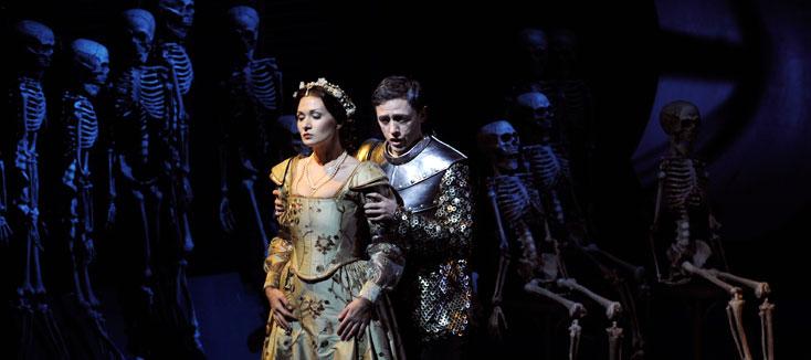 Gelena Gaskarova et Alexandre Vinogradov chantent Francesca da Rimini à Nancy