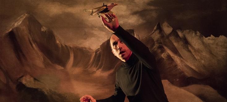Frankenstein, spectacle de la Compagnie Karyatides