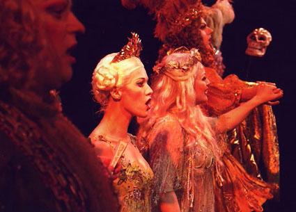 le soprano Valérie Gabail dans The Fairy Queen de Purcell