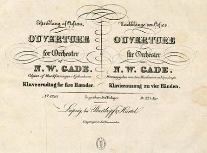 Laurence Equilbey joue l'ouverture Efterklange af Ossian de Niels Gade