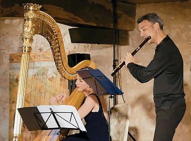 Anaïs Gaudemard et Julien Beaudiment aux Estivales de musique en Médoc