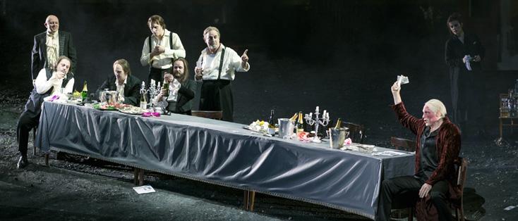 création française à Lyon du plus célèbre opéra de Shreker, Die Gezeichneten