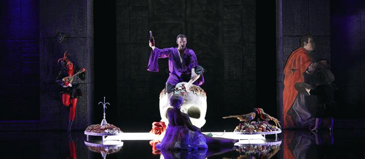 Excellent Don Giovanni par le jeune Kostas Smoriginas à l'Opéra de Lausanne