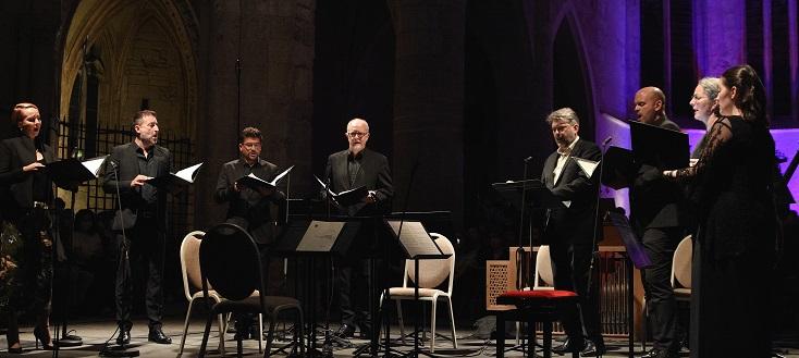 """Trois """"Stabat Mater"""" par Gli Angeli Genève au Festival d'Ambronay 2021"""