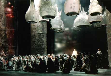Boris Godounov (Бори́с Годуно́в) par Gergiev au Théâtre du Châtelet (Paris)