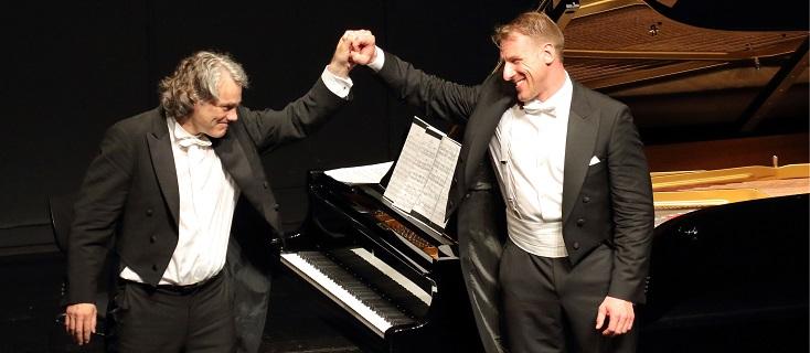 la basse Günther Groissböck et le pianiste Gerold Huber en récital à Munich