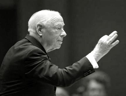 le chef néerlandais Bernard Haitink donne une 9ème de Bruckner mémorable