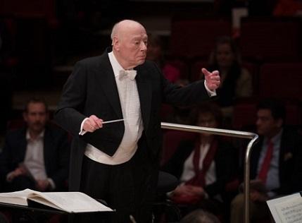 Quelques jours avant ses 90 ans, Bernard Haitink dirige la neuvième à Munich