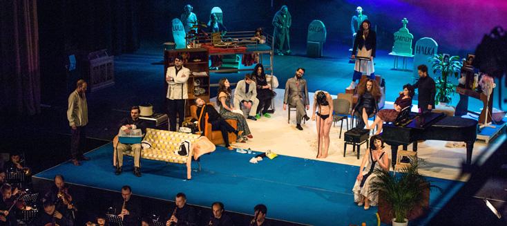 à Cracovie, Cezary Tomaszewski met en scène Halka, opéra de Moniuszko