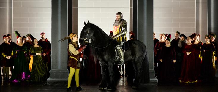 Hercules de Händel (1745) mis en scène par Nigel Lowery à Mannheim (2017)