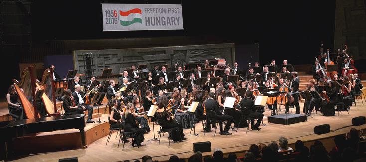 Symphonie n°7 de László Lajtha lors du grand cocnertc solennel hongrois