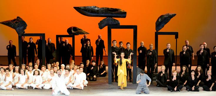 la trop rare Perséphone de Stravinsky, mise en scène par Sellars à Lyon