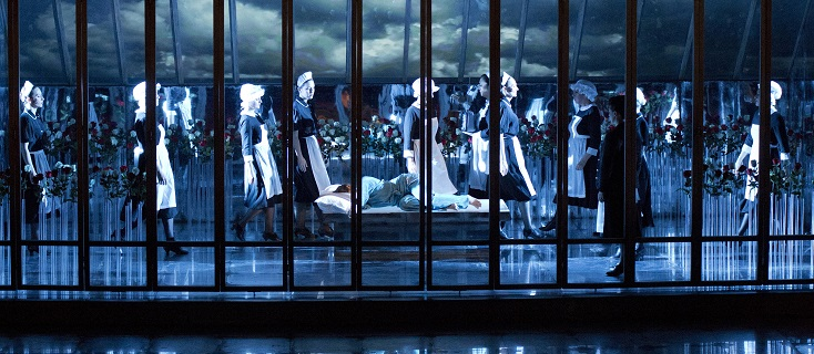 Iolanta de Tchaïkovski à l'Opéra de Tours, mis en scène par Dieter Kaegi